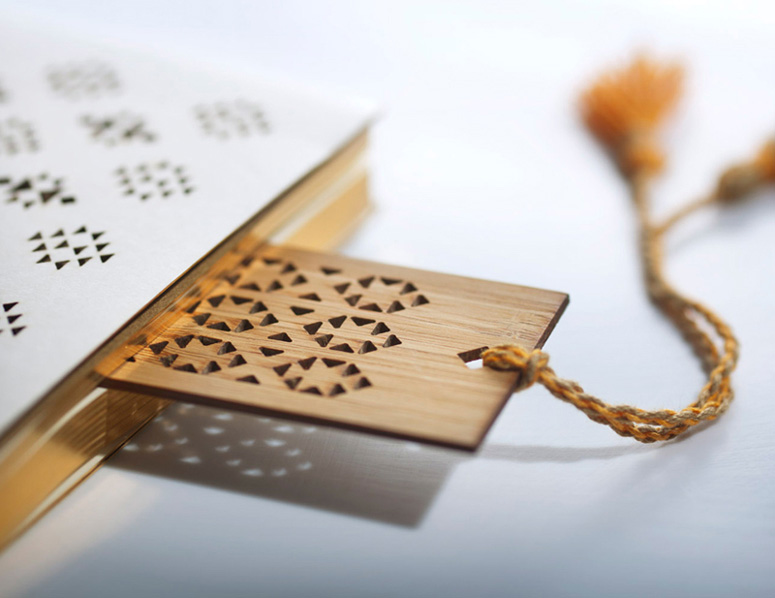Laser Cut Products 38 - Mashrabiya Bookmark