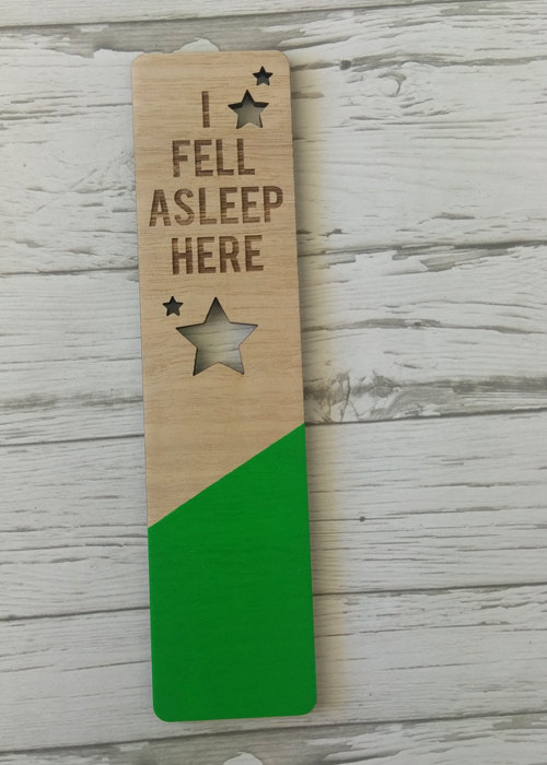 Laser Cut Products 41 - LasercraftWorkshop Painted Wood Bookmarks