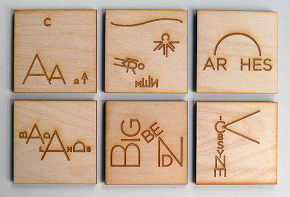Make Your Own Coasters 3 - Nine Day Weekend Magnets