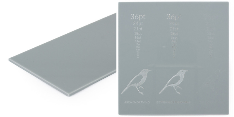 9 Gray Acrylic Sheet