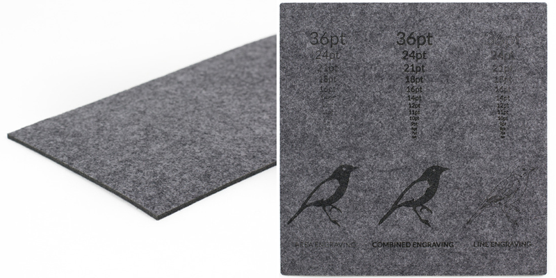 Synthetic Felt 8 - Grey Sheet
