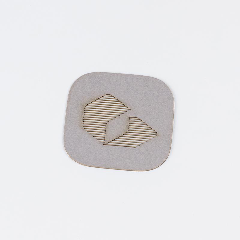 Cardstock Paper 10 - Grey Logo Card