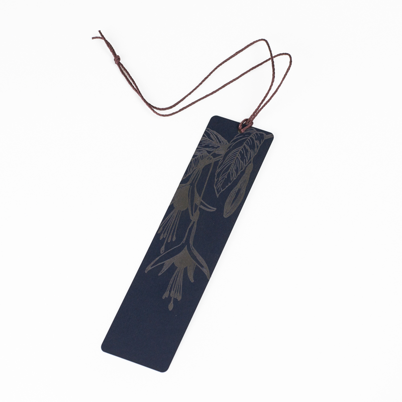Cardstock Paper 15 - Navy Blue Bookmark