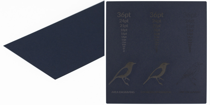 Cardstock Paper 16 - Navy Blue Sheet