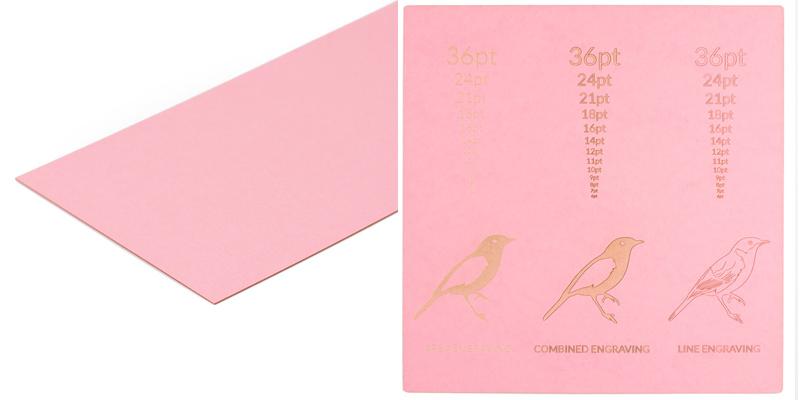 Cardstock Paper 6 - Pink Sheet
