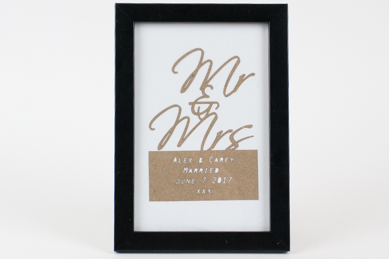 Brown Kraft Cardstock Paper 6 - Wedding Anniversary Gift
