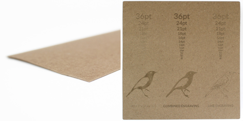Brown Kraft Cardstock Paper 7 - Sheet