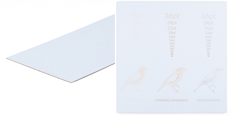 Cardstock Paper 9 - Azure Blue Sheet