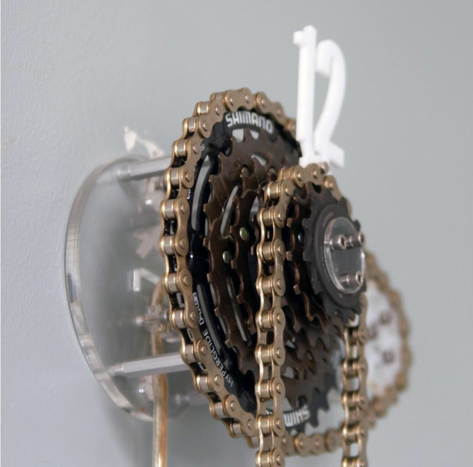 Needlessly Complex 4 – Exposed Gear Bike Chain Clock - Lotsa Cogs