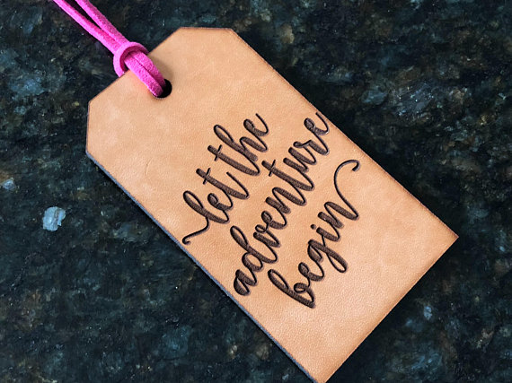 Sell On Etsy - AUdesignsStudio Luggage Tag