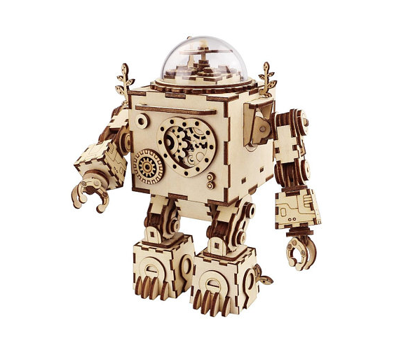 Sell On Etsy - Craftismo Wood Puzzle Robot