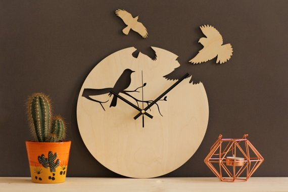 Sell On Etsy - SnazzyNestShop Clock