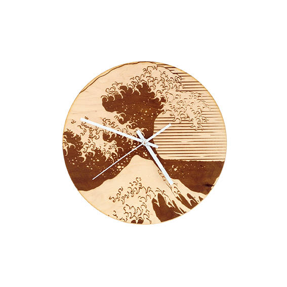 Laser Cut Products 03 -RockwoodArtShop Wave Clock