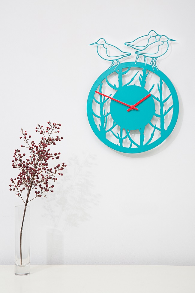 Laser Cut Products 14 - Max Cairns Redshank And Samphire Clock