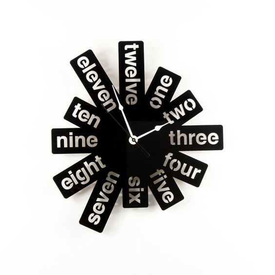 Laser Cut Products 16 - WoodEnvy Word Clock