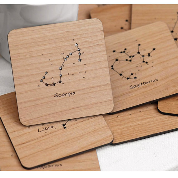 Laser Cut Products 25 - StylineDesigns Celestial Coasters