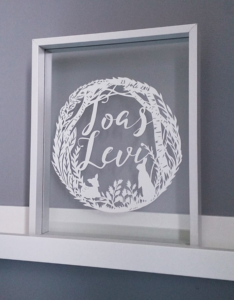 Laser Cut Products 34 - Monique van Uden Typography Art