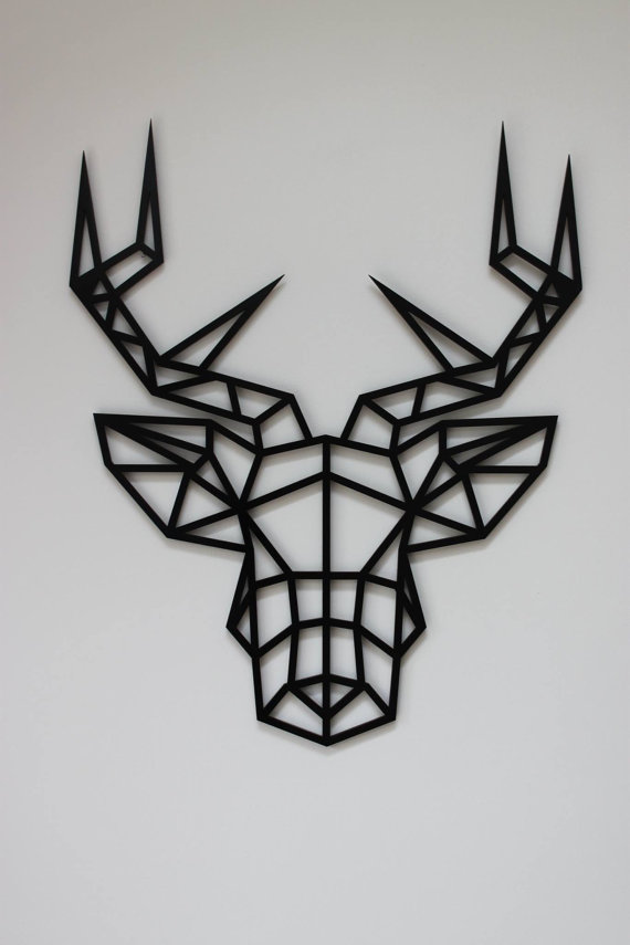 Laser Cut Products 37 - KreativDesignCo Stag Art