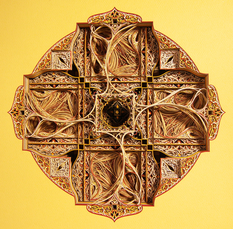 Laser Cut Products 45 - Eric Standley Stacked Paper Art
