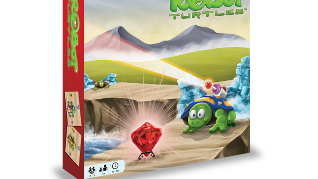 Robot Turtle Board Game Box