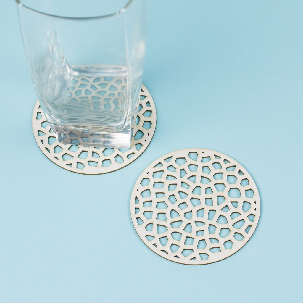 USA New Materials 6 - Coaster Board Coasters
