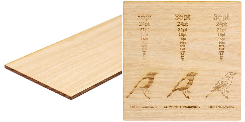 USA Hardwood 13 - Red Oak Sheet
