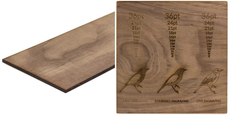 USA Hardwood 18 - Walnut Sheet