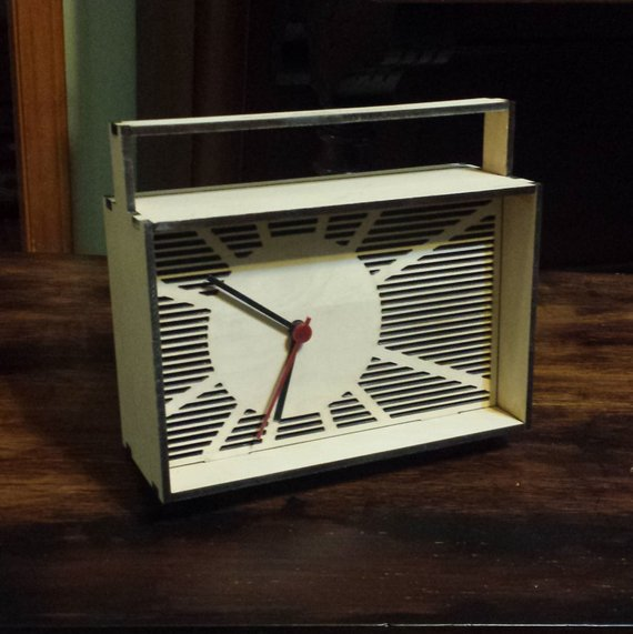 creative promotional product ideas - Clock -RolphLaserCreations