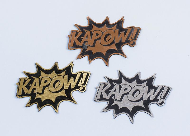 USA Acrylic Stickers 2 - Kapow