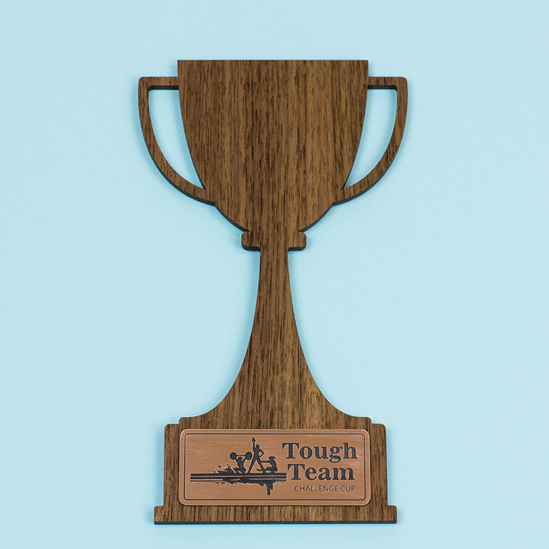 USA Acrylic Stickers 4 - Copper On Black Trophy