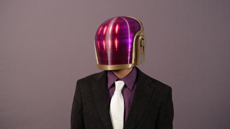 Arduino Guide - Daft Punk Helmet