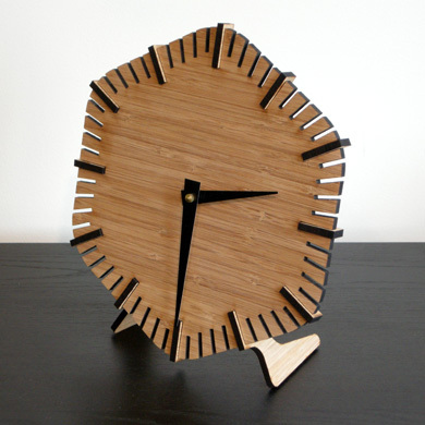 Make A Clock - Laser Cut Wood Hex Clock