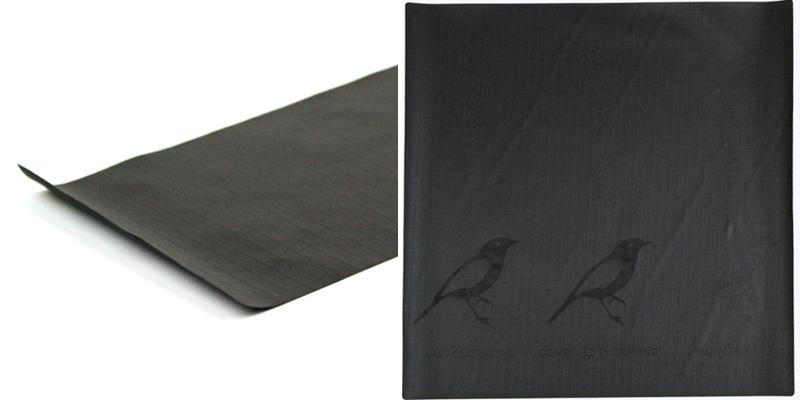 Ripstop Nylon NZ 8 - Black Sheet