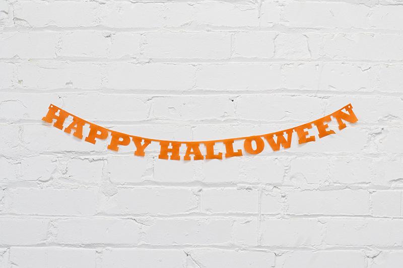 Ripstop Nylon USA 2 - Orange Halloween Banner