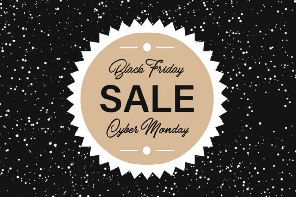 Black Friday Cyber Monday Sale Header