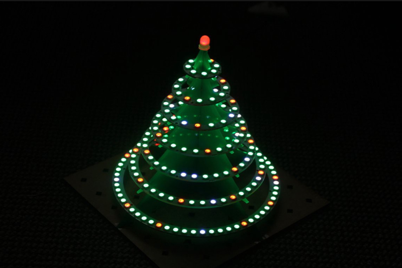 Holiday Deadlines - Illuminated Christmas Tree 1