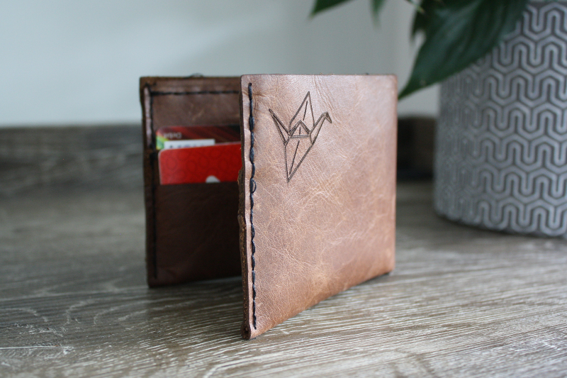 Mocha Upholstery Leather 2 - Wallet