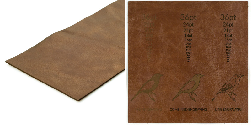 Mocha Upholstery Leather Sheet