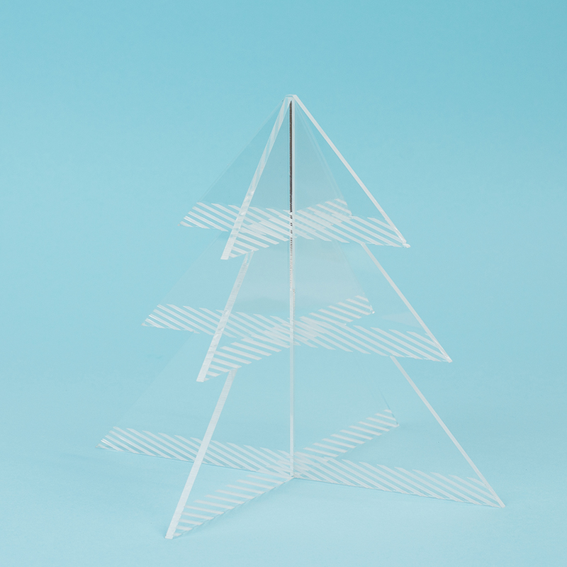 Recycled Acrylic 14 - Clear Christmas Tree