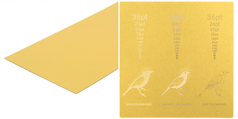 NZ Cardstock Paper 7 - Gold Sheet