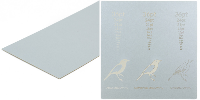 USA Cardstock Paper 12 - Silver Sheet