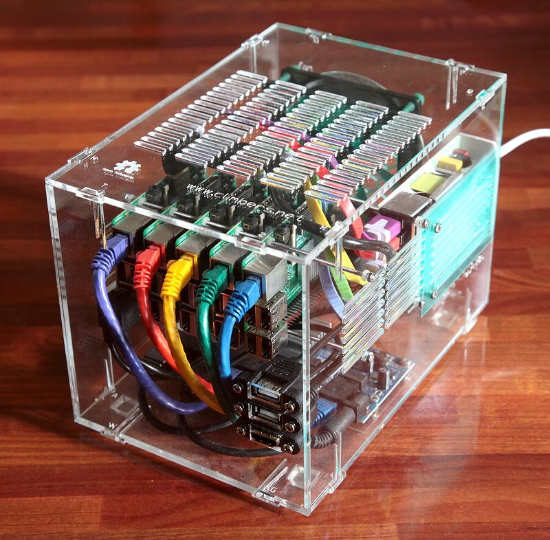engineering projects Pi Cluster