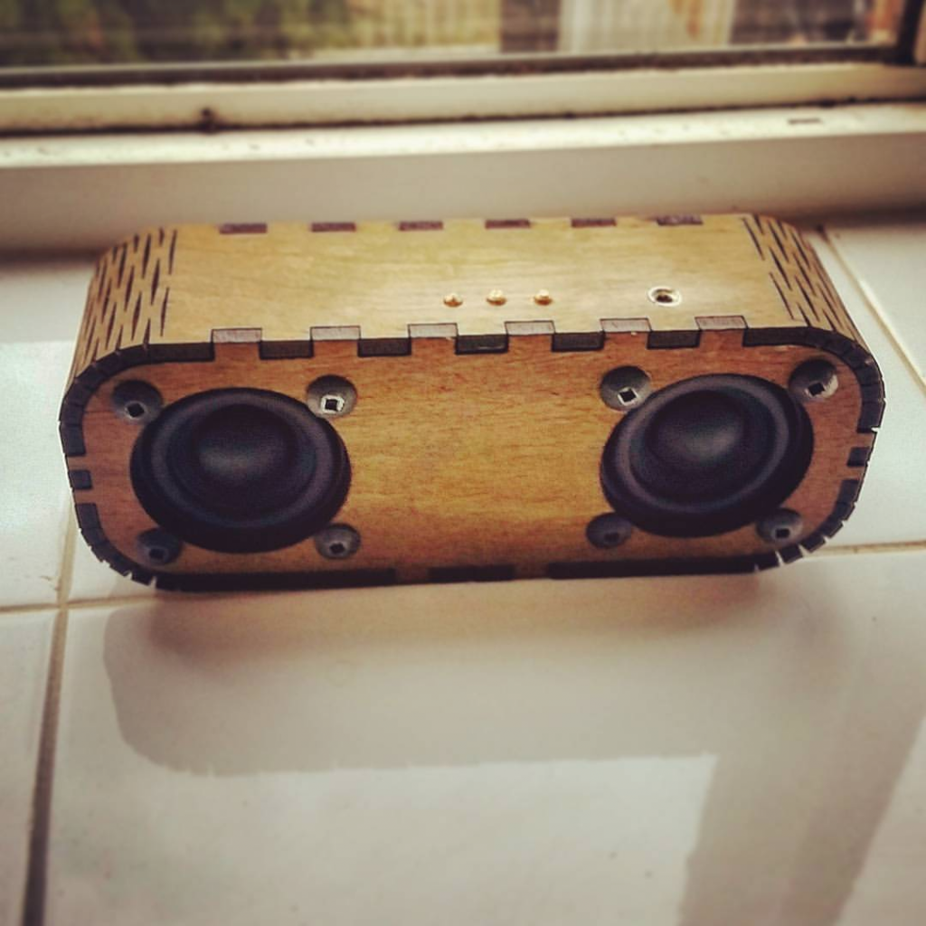 engineering projects Bluetooth Speaker