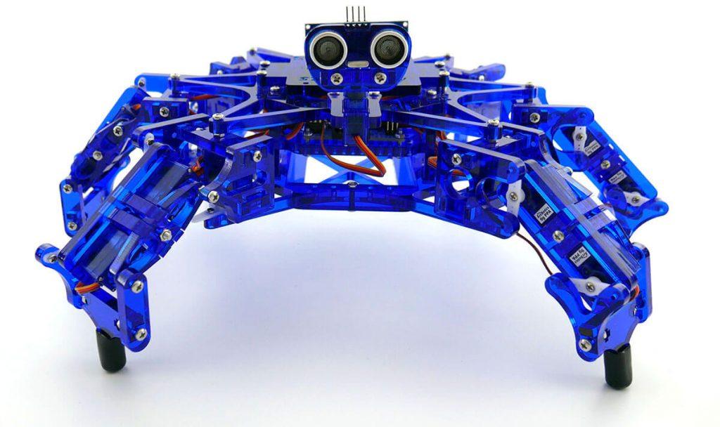 Building A Robot - Hexy