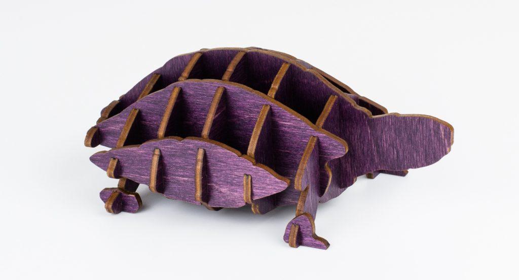Colored Plywood 10 - Plum Turtle