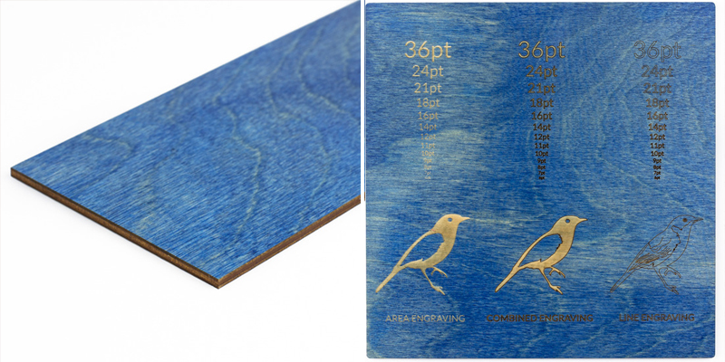 Colored Plywood 5 - Blue Sheet