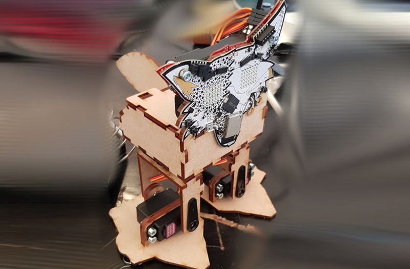 engineering projects Fri3D Biped Robot