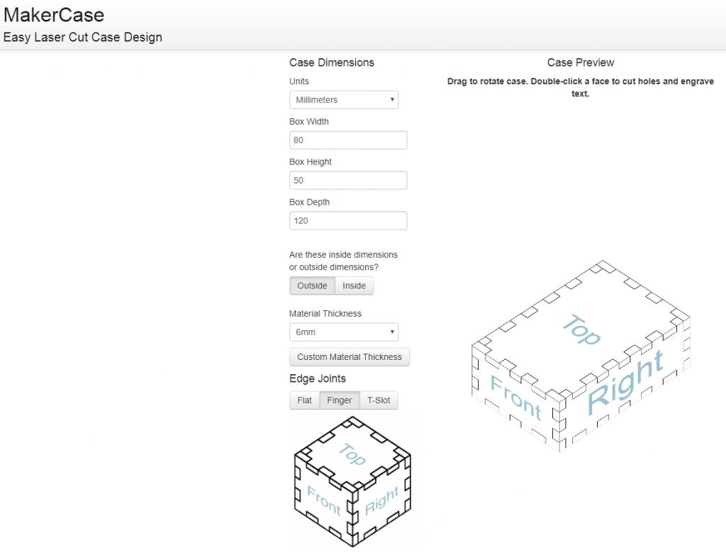 Gaboon Marine Plywood 3 - MakerCase Screenshot