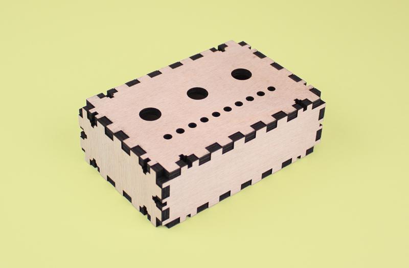 Gaboon Marine Plywood 4 - Electronics Project Box