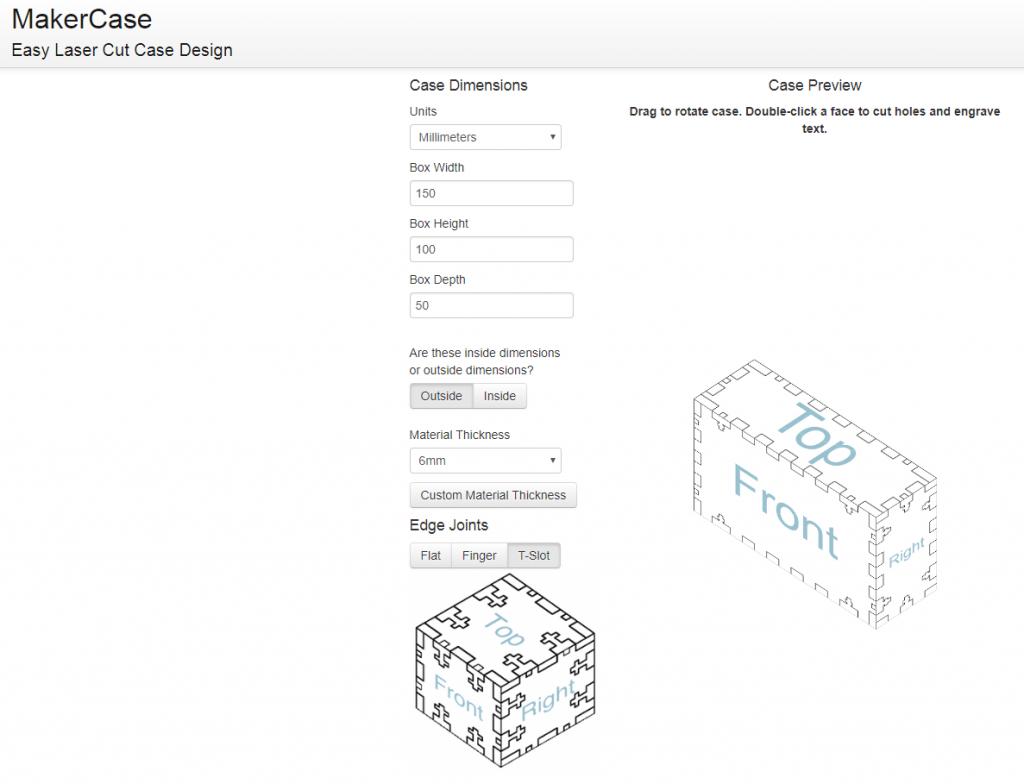 Gaboon Marine Plywood 5 - MakerCase Screenshot